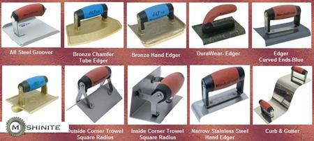 Инструменти материали за щампован и декоративен бето ...