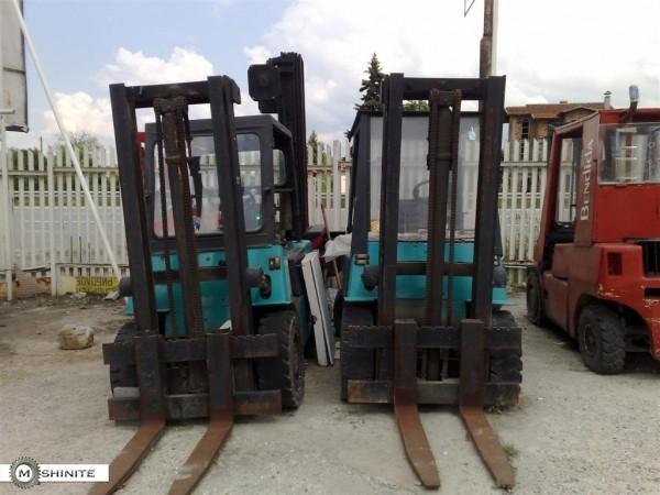 4 броя Балканкар 3500 кг.