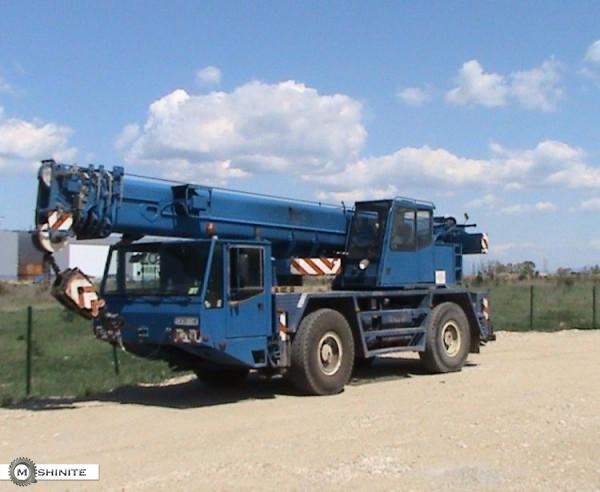 Автокран под наем, Камион с кран