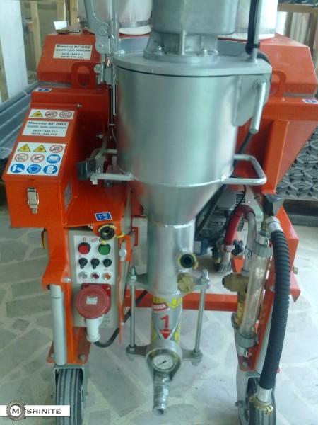 MIXER - машини за полагане на мазилка и замазка