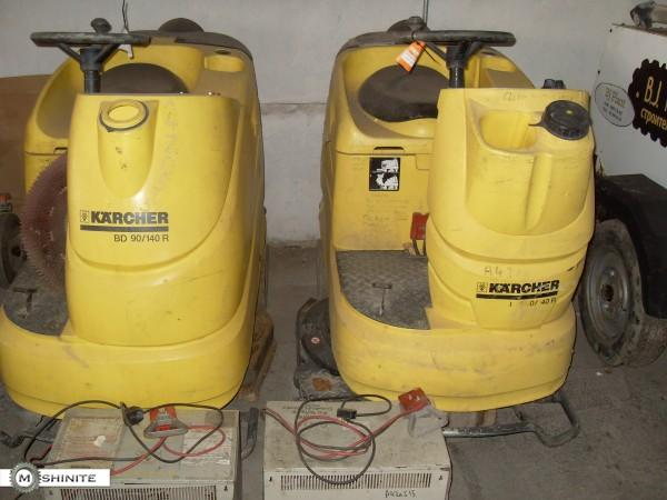 Професионални автомати за почистване с управление