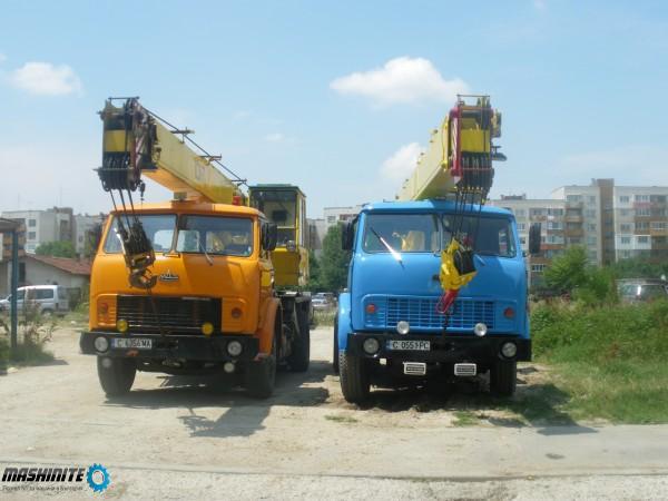 Автокран под наем за София и страната