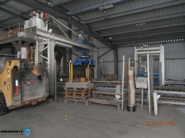 Линия за производство на бетонови бокчета