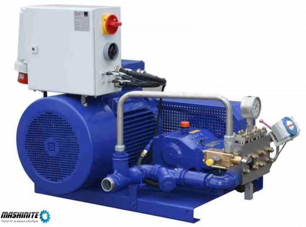 машина за водно бластиране