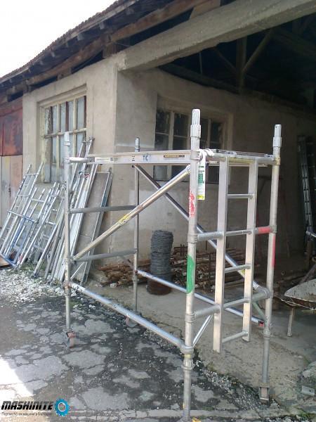 Алуминиево подвижно скеле под наем в Пловдив
