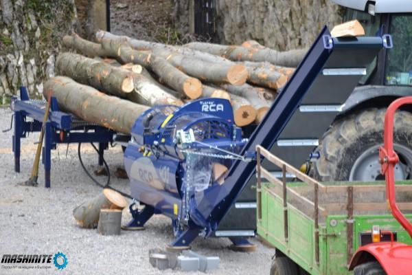Машина за рязане и цепене на дърва TAJFUN RCA 400 JO ...