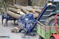 Машина за рязане и цепене на дърва