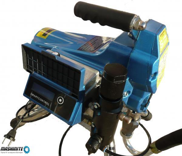 Бутална машина за безвъздушно боядисване