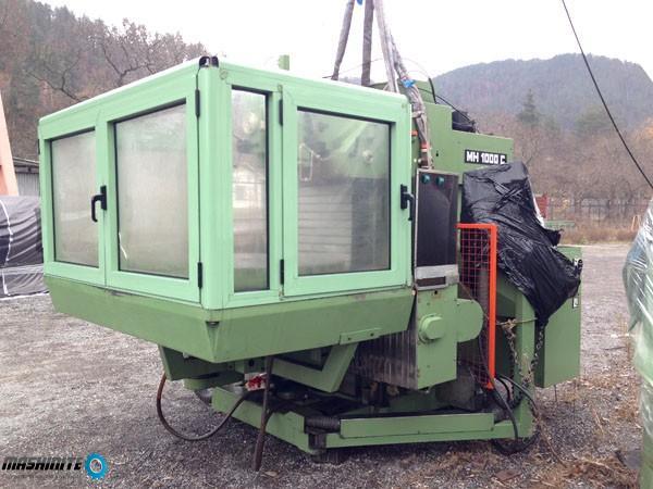 Maho MH 1000 C - CNC 4 Осна Инструментална фреза с Ц ...