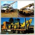 Камион с Кран и Мотокарни Услуги Под Наем