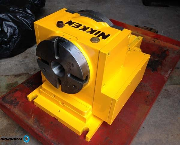 CNC Делителен апарат Nikken 150 mm със собствено упр ...