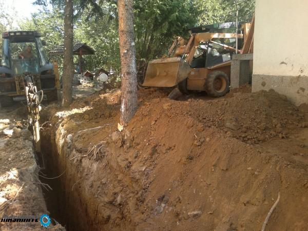 услуги бобкат мини багер цялостно изграждане. Изкопи ...