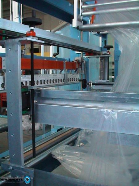 Употребявана опаковъчна машина с термосвиващ тунел з ...
