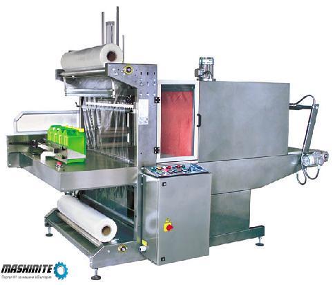 Употребявана машина за опаковане с термосвиваемо фол ...