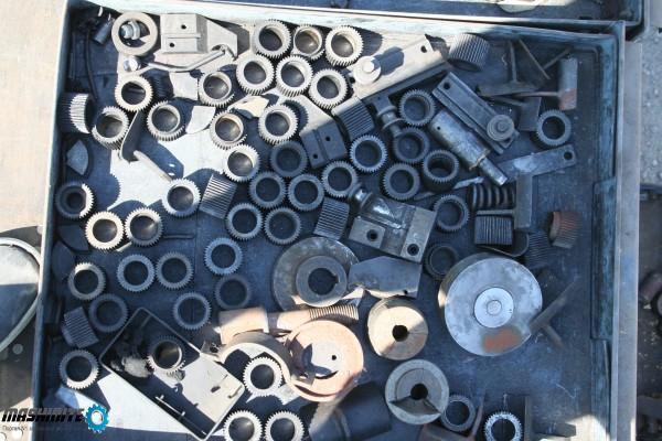 Зъбни колела, рейки, матрички, пружини, клапани и др ...