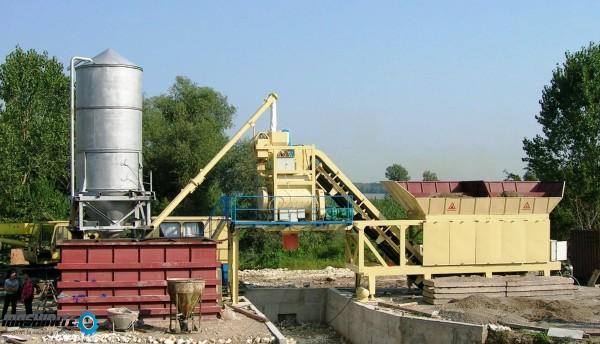 Мобилен бетонов завод