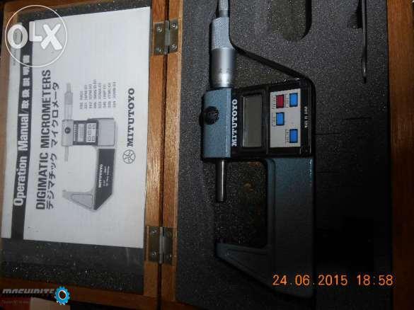 Електронен микрометър