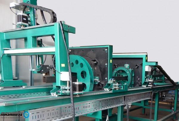 CNC/ЦПУ ЦНЦ  автомат за плазмено рязане на стома ...