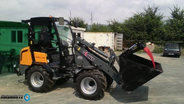 Самоходни товарачи giant Tobroco machines-Холандия