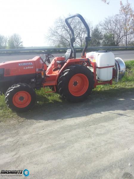 Трактор KUBOTA L3200+вентилаторна пръскачка 300 литр ...