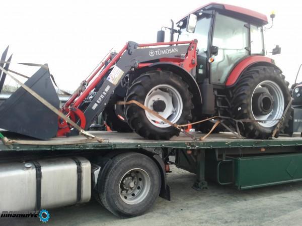 Трактор TUMOSAN,модел 9115+челен товарач