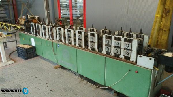 Продавам машина за огъване на PVC усилител  и гипсок ...