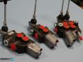 Хидравлични разпределители, ръчни и с електромагнитно управление