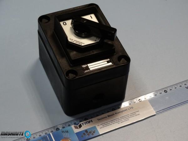 Взривозащитен превключвател TEP 16A, 500V~