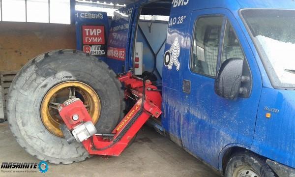 Мобилен сервиз за тежкотоварни гуми