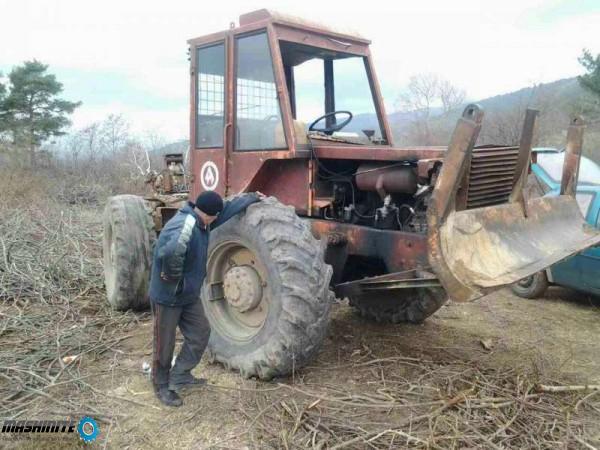 Трактор шипка 80