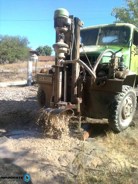 Сондажи за вода в скалиста почва