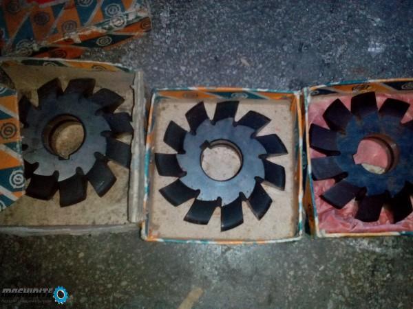 модулни фрези-модул-4,4,5,5,5