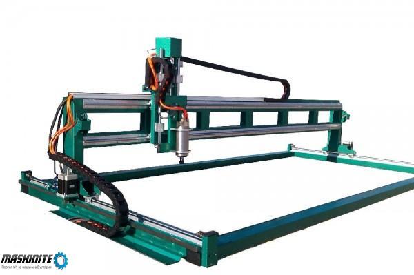 ЦПУ CNC router координатна машина бързоходна до 450мм/сек  от производител