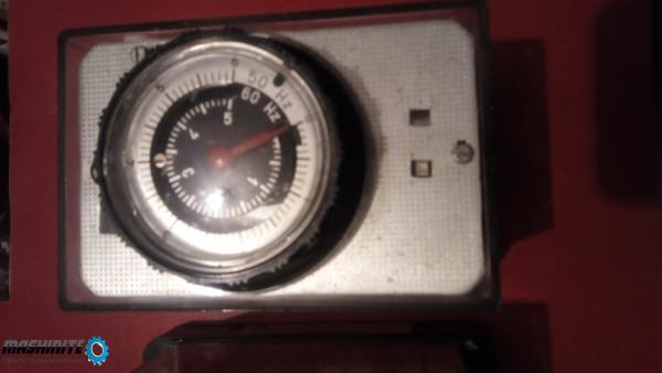 Моторно реле време от 6сек до 60часа рвм60