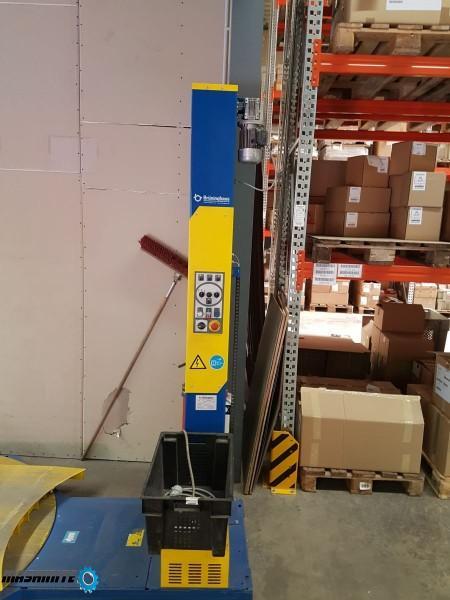 Употребявана въртяща платформа за опаковане на палет ...