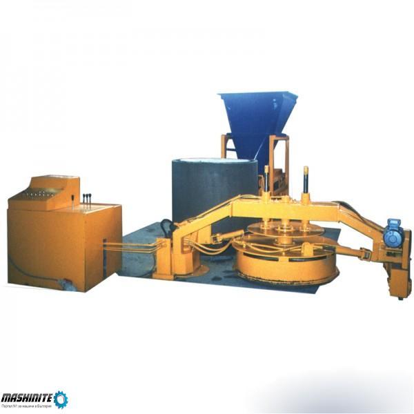 Concrete pipe making machine SUMAB