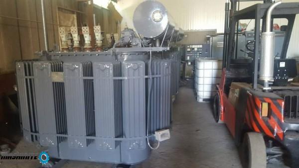 силов маслен трансформатор 1000 ква с 24 месеца гара ...