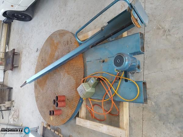 Употребявана фолираща машина за опаковане със стреч