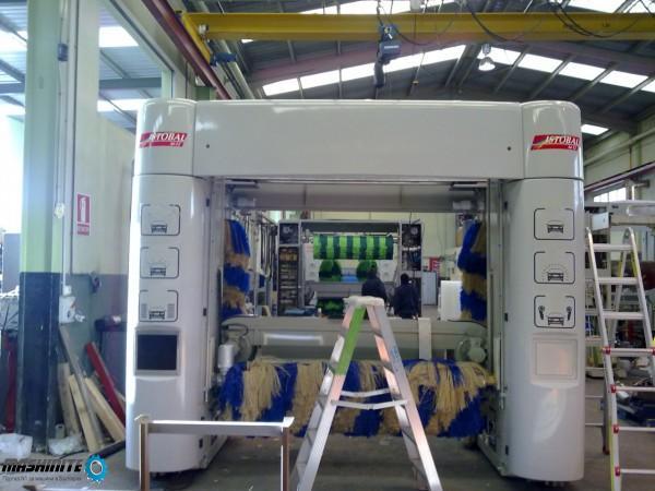 Рециклирани Автоматични четкови машини с изсушител