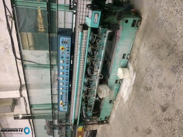 Праволинейна машина за фасетиране на стъкло