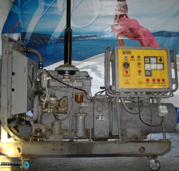 Агрегат трифазен за ток 30 kw 400V дизелов ANDORIA