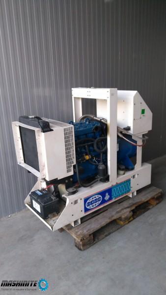 Дизел генератор Fg Wilson 17kva 14kw на 159 работни  ...