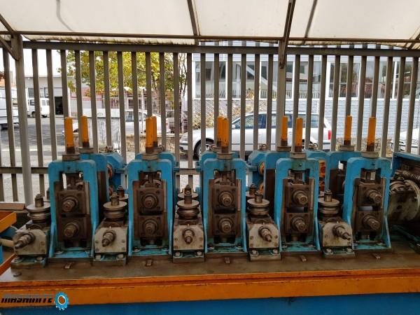 Линия за производство на метални тръби ТИГ
