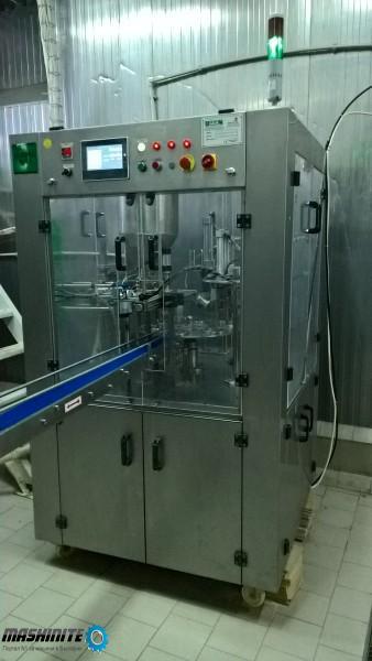 Автоматична машина за дозиране и опаковане на кисело ...