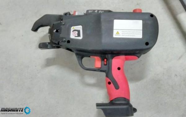 Машина пистолет за връзване на арматура