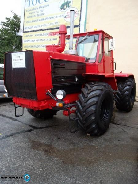 Продавам напълно отремонтиран трактор Т150