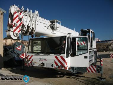 Услуги с Автокранове 35 до 250 тона / Телескопични т ...