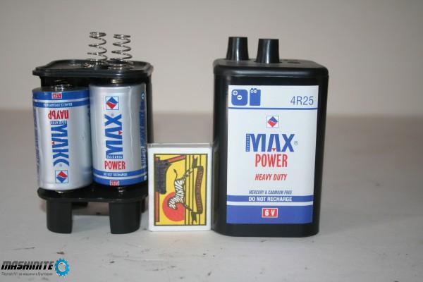 Адаптор /батерия 4 Р25- 6В НА 4 БР.-Р20