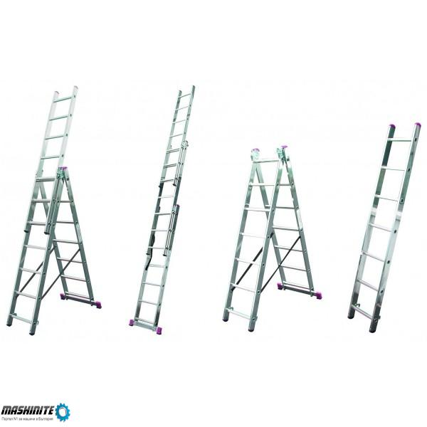 Алуминиева стълба 7,25м под наем