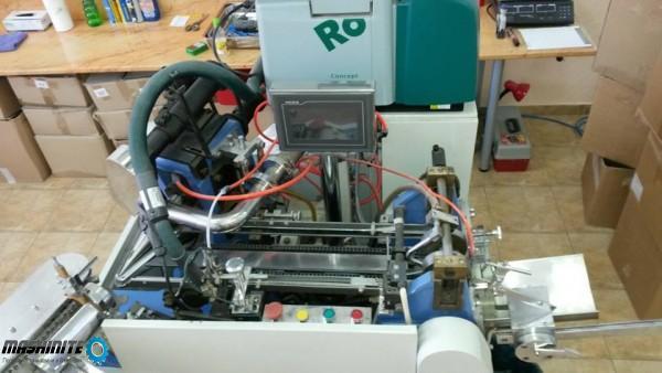 машина за производство на хартиени конуси